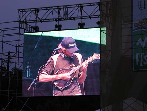 Nickel Creek mandolin player on the big screen