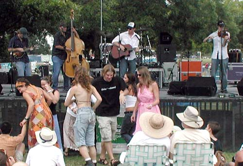 South Austin Jug Band with dancers