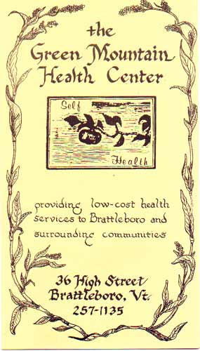 Green Mountain Health Center brochure
