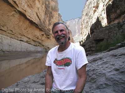 Ric in St. Elena Canyon